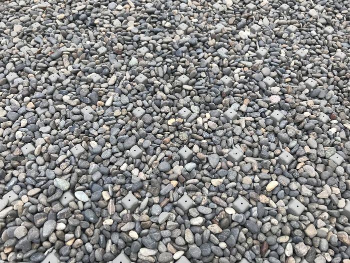 Stone gravel on
