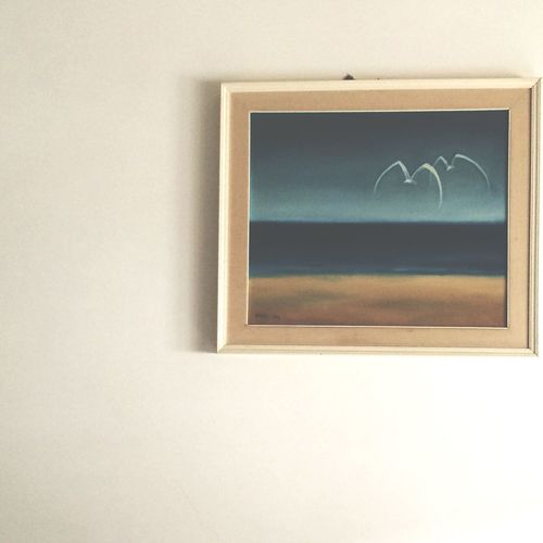 Light And Shadow Quadro Sea And Sky Painting Seapainting Relaxing Minimalism Tranquil Scene