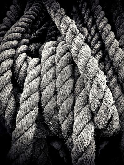 Black And White Rope Swing Rope Art Bundle Brace Nopeople Backgrounds