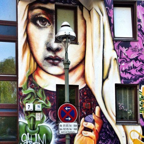 Graffiti Street Art Hello World
