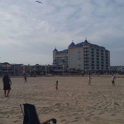 Frisbees are staying to fly at @ocbeachultimate on the beach at Somerset Oceancitycool OceanCity Maryland Ocmd ocmdphotography