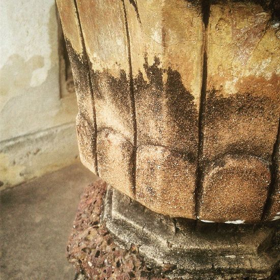 Pillar Base Architecture Carved Detailing Art SuperMacro History Heritage Ancient Sandstone India