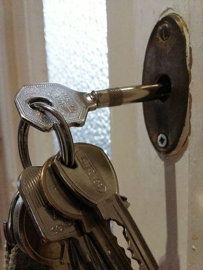Key Locked Up Door