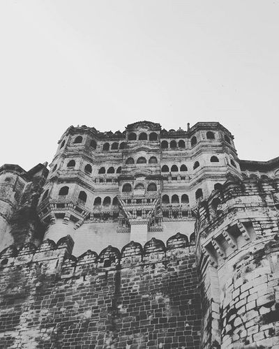 Monochrome Jodhpur Heritage Palace Mehrangarh B_n_w Desire820 Filtered This_view_is_astonishing 😍