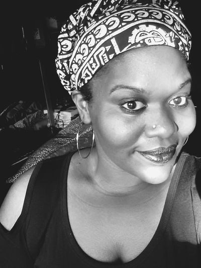I really like this B&W version vs the one in color I posted yesterday🌚🔮💀 Head Wrap Blackout Post Blacout Melanin Queen Dark And Lovely Dark Is Good Urban Decay Blackmail