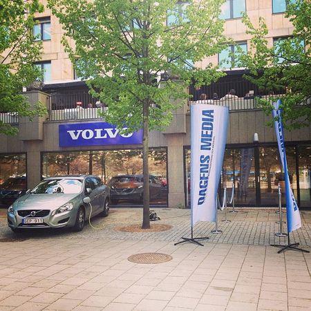 Dagens Media @volvocarsshowroom DagensMedia Volvocars V60 Plugin hybrid event