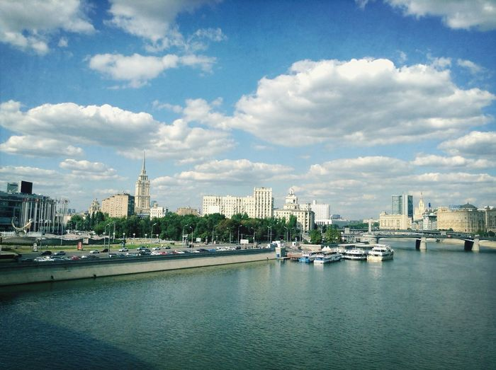 Lovely sunny days in Moscow Moscow Summer Cityscape
