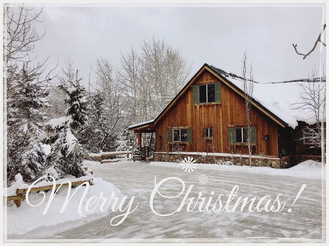 Merry Christmas everyone! Have a safe and happy new year! 🎄 ✨ Wasatch County Utah Christmas Winter Snow Building Exterior House Built Structure Architecture Cold Temperature