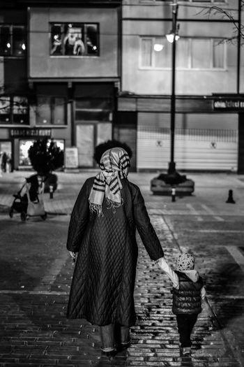 MySON♥ Myson Childhood Babyhood MySonMyLoveMyEverything Nightphotography Blackandwhite Black And White Black And White Photography Walking Around The City  Mumandson Mother And Son Be. Ready.