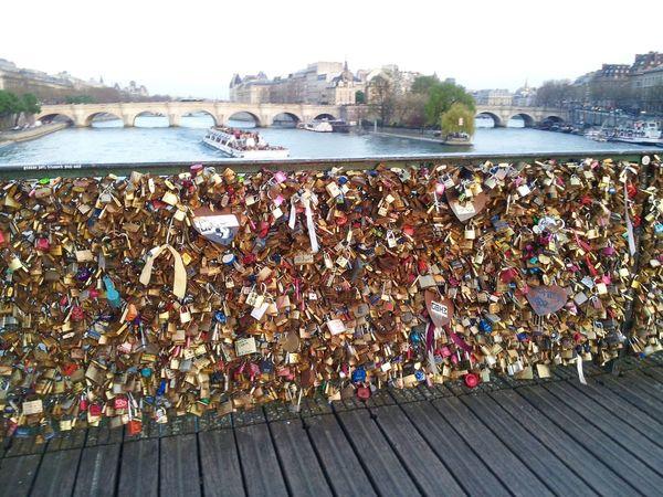 Abondance Bridge Bridges Close-up Full Frame La Seine Locks Love Locks Bridge Love Locks Metal Matalic Pont Des Arts,Paris Souvenirs Love ♥