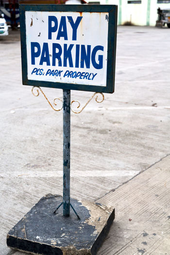 Parking Sign No