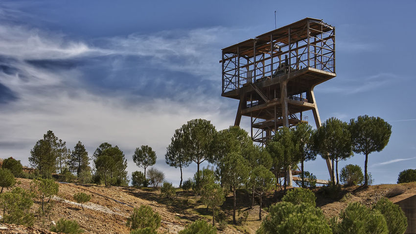 Architecture Beauty In Nature Built Structure Malacate Pozo Riotinto Riotinto