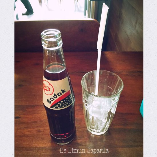 Es Limun Saparila - Urban Kitchen Drinks