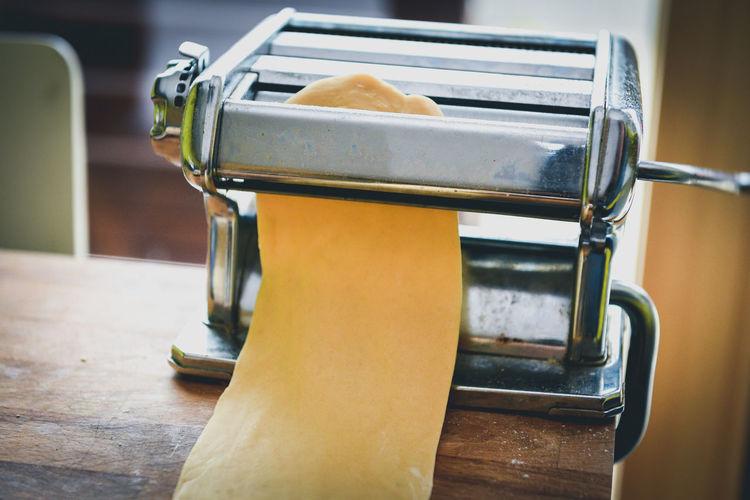 Close Up Of Pasta Maker