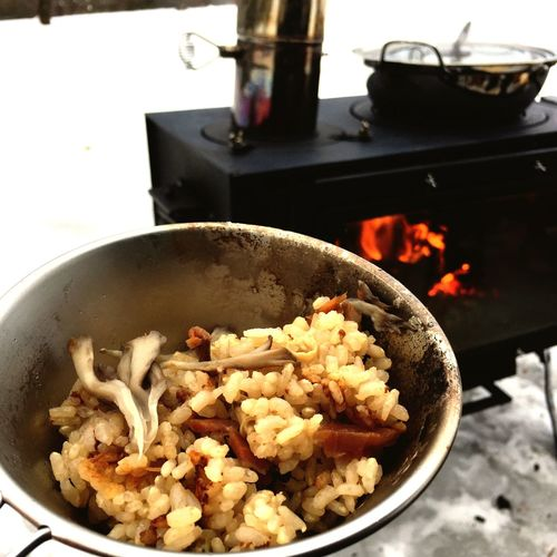 Daycamp Mie Snow Socold Woodstove Sogood