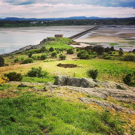 View from Cramondisland , Scotland during Lowtide  . The path to the island runs along Ww2 fortifications (seen in the distance). One of many Free Thingstodo in the Edinburgh area. Just check the tide tables before you make the crossing, lest you get stranded. Photo taken: May 2014