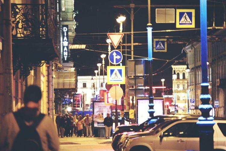 Night City Life Saint Petersburg Nightphotography Architecture Night Life