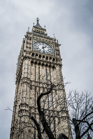 Architecture Building Exterior Built Structure City Clock Clock Face Clock Tower Cloud - Sky Cultures Day History Low Angle View Minute Hand No People Outdoors Sky Time Tower Travel Travel Destinations Tree Vacations