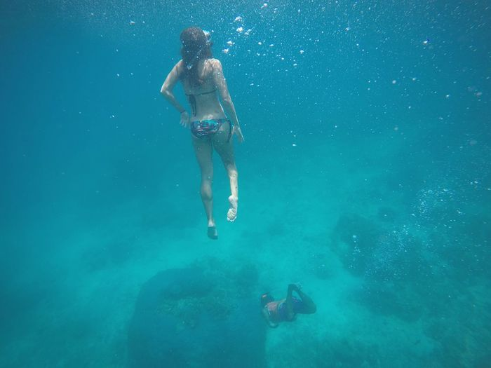 Gili Island, Indonesia UnderSea Nature Sea Adventure