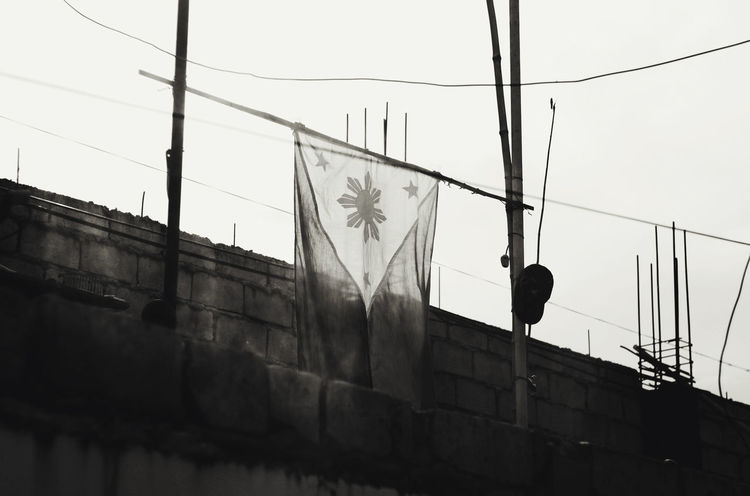 FREEDOM WAS TAKEN BY THE BLOOD THAT WAS GIVEN. EyeEm EyeEm Pampanga Eyeem Philippines EyeEm Philippines: Our Independence Day 2016 Philippine Flag Philippines ShootTheDay Streetphoto_bw Streetphotography
