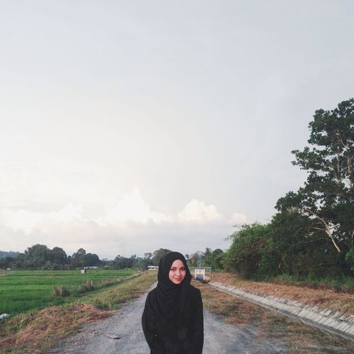 Love the view Paddy Field Hijabi Vscocam Vscophile