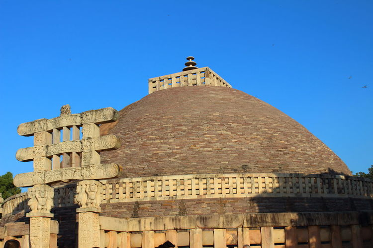 Finding New Frontiers Architecture Travel Destinations History ArchitectureClear SkyArchitecture Sanchi Stupa India Travel Destinations History