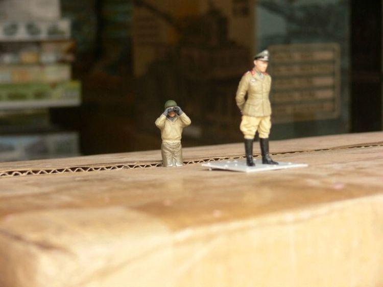 Desert Fox German general Rommel World War 2 Model