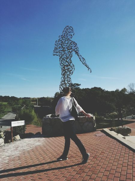 One Person Young Adult Adult People Motion Dance Statue Move