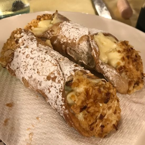 Cannoli Montalbano Sicilia Food Food And Drink Ready-to-eat Healthy Eating Freshness Plate Serving Size