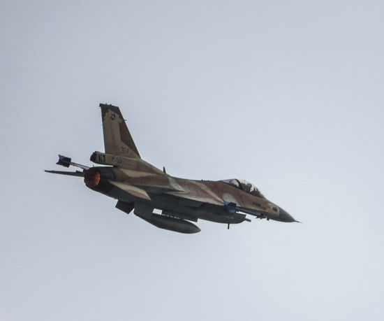 Air Force Aircraft Aviation Aviationphotography Day F-16 Flight Israeli Air Force Military Outdoors Sky