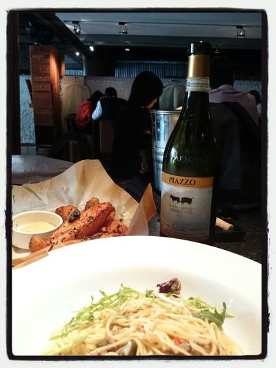 awsome food and WINE !! Of course , with the best friend ! 狂聊5小時都快可以再吃晚餐了
