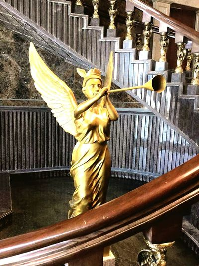 Metalsculpture Stairs Staircase Taking Photos Cebu Philippines