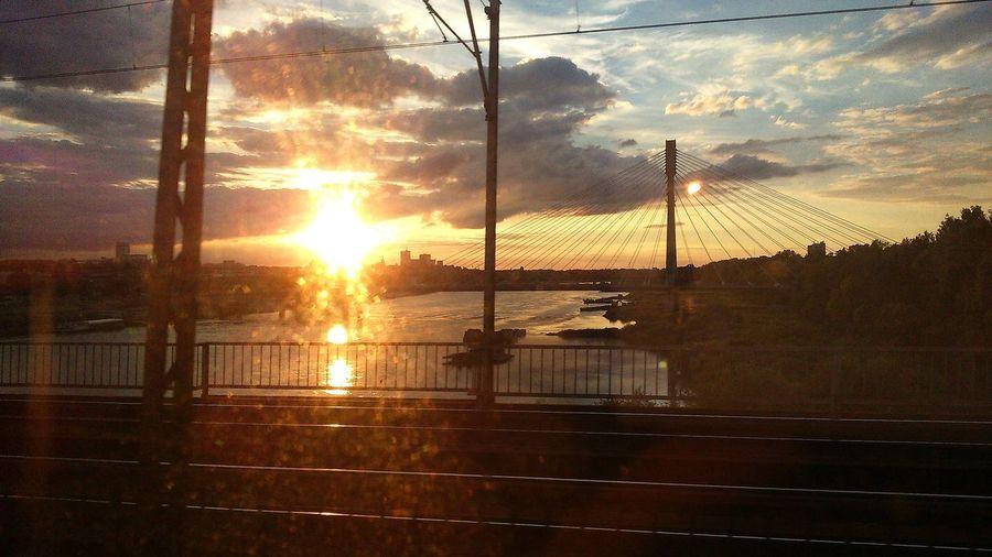 Hidden Gems  Warsaw Sunset Photography Bytrain Beautiful View