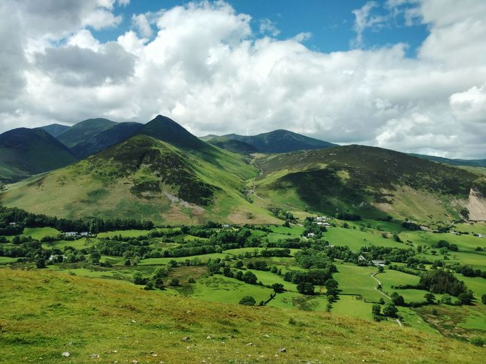 Lake District Greenery Cloud - Sky Mountain Agriculture Mountain Range Outdoors Landscape