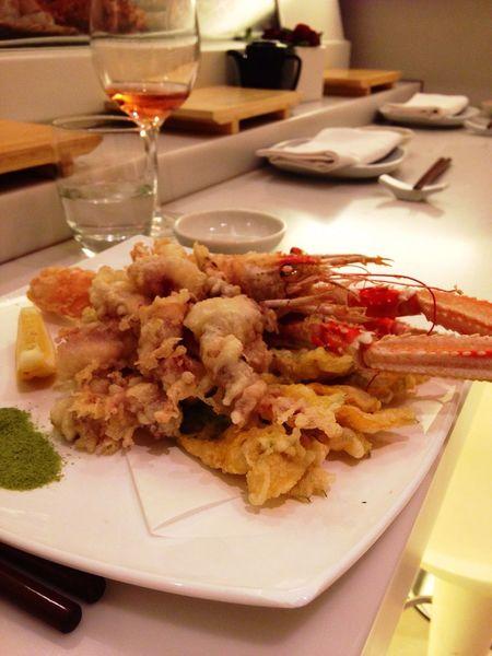 Loving tempura ❤️ Food Food And Drink Indoors  Ready-to-eat Dinner Main Course Fish Tempurashrimp Tempura Fried Japanese Food Japanese Restaurant
