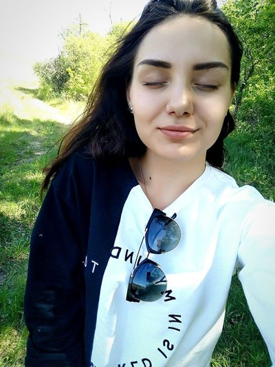 Young Adult Portrait One Person Front View Leisure Activity Lifestyles Women