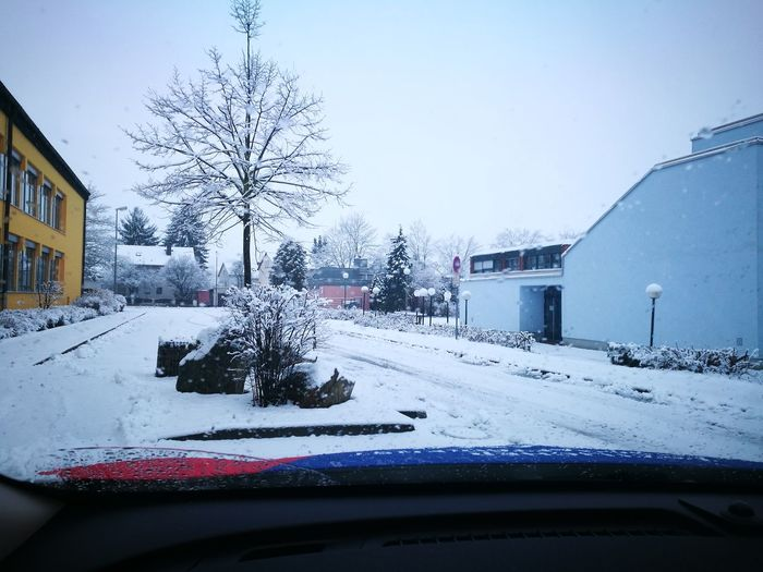 snowland.... Car Winter
