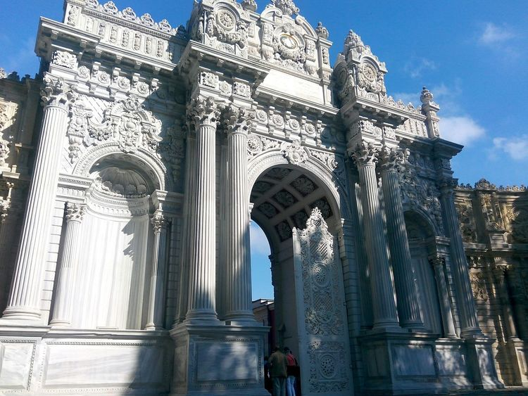 Dolmabahçe Palace /İstanbul Old Door Door Historical Building Hello World Famous Place Istanbul Turkey Tarihimekan
