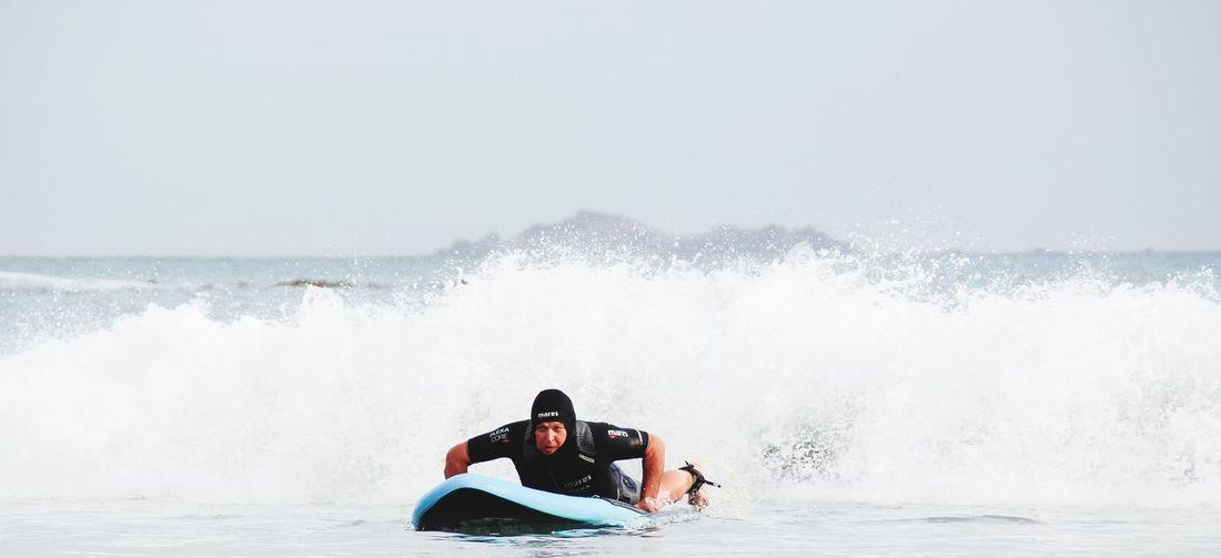 Sport Aquatic Sport Weekend Activities Men Power In Nature