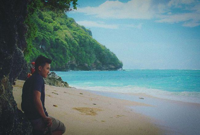 Relax on beach Greenbowlbeach Bali Beach Balinese Life Travel Vacations Nature INDONESIA