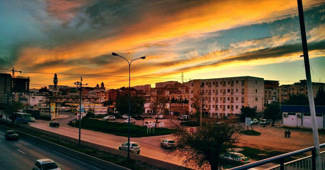 my town, sonatiba by sunset Hometown Annaba Sunset