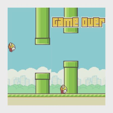 The death of me Flappy Bird