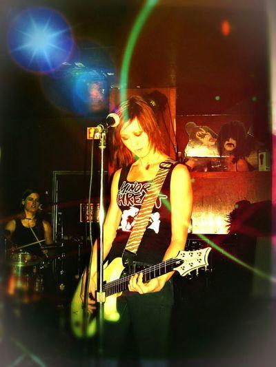 Rocking Out Ladies Night Shredding Rock'n'Roll Live Music