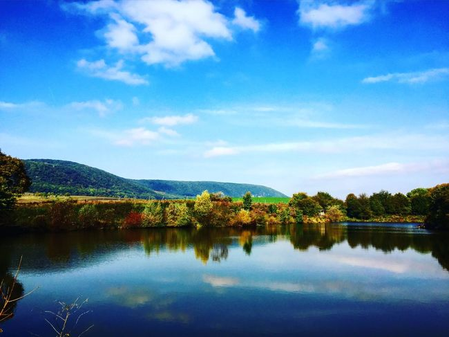 Beauty In Nature Countryside Idyllic Lake Landscape Mountain Nature Non-urban Scene Reflection Scenics Sky Tranquil Scene Tranquility Tree Water