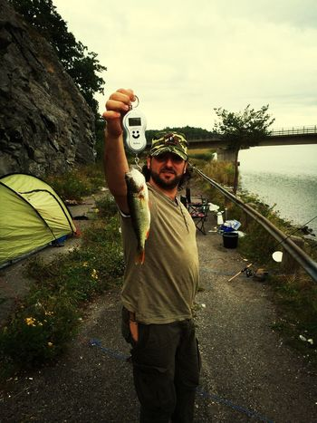 Fishing Camp Fire Camping Enjoying Life