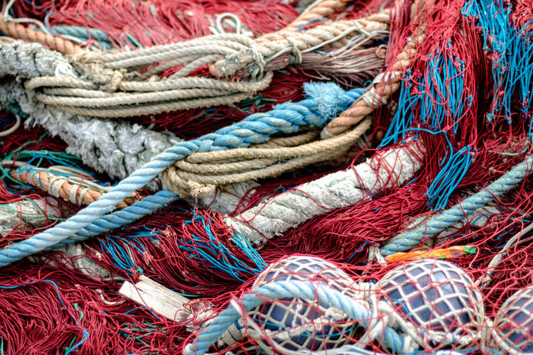 Abstract Abundance Close-up Colorful Detail Fabric Fisherman Fishermen's Life Fishnet Full Frame Genova Italian Lifestyle Liguria Liguria,Italy Man Made Object Material Multi Colored Pattern Porto Di Genova Textile Fine Art Photography Eyeemphoto
