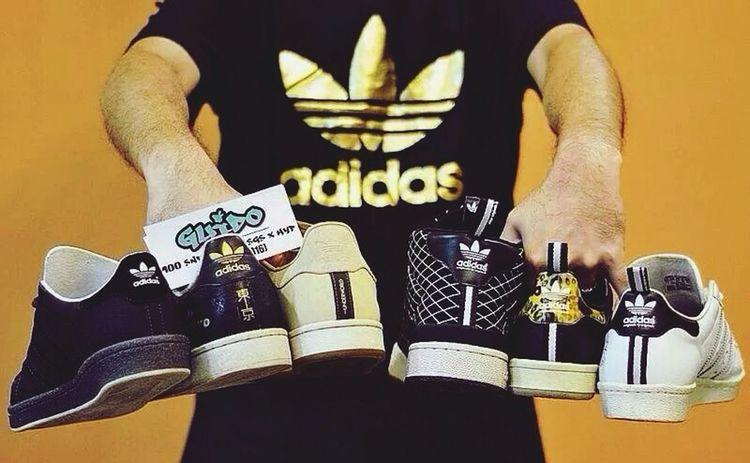 TRE FOIL Adidas Street Fashion