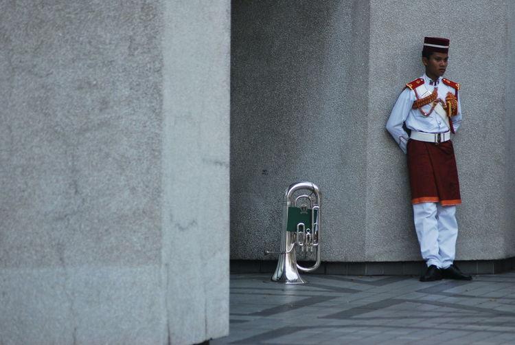 Street Celebration Flag Anniversary Malaysia Holiday People Society Trombone Trompet Showcase July