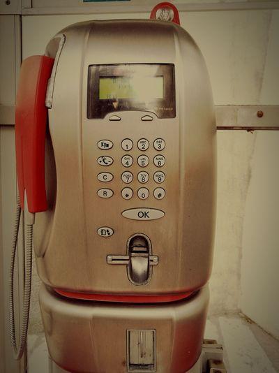 Insert Coin Insert Card Telephone Vs Smartphone