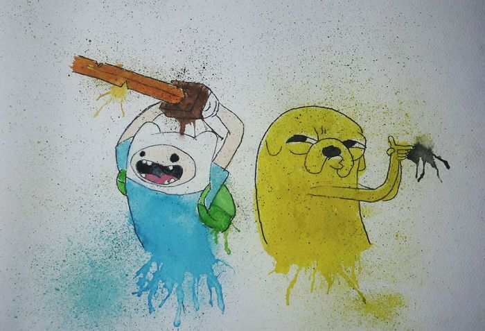 Draw Aventure Time